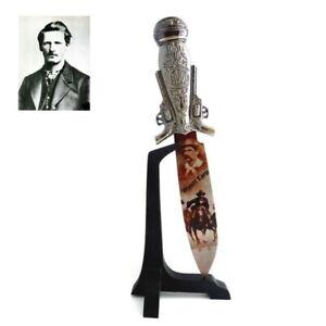 Couteau de collection Western Wyatt Earp