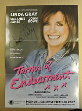 Poster. Terms of Endearment xxx. September 2007 Personally signed by Linda Gray.