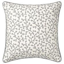 IKEA LUNGÖRT Kissenbezug, grau, weiß 50x50cm Kissenhülle m.Reißversch.Baumwolle