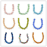 200 pcs  Faceted Crystal Glass 5301 Bicone Loose Spacer Beads  4mm Wholesale