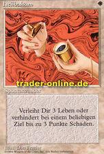 2x Heilbalsam (Healing Salve) Magic limited black bordered german beta fbb forei