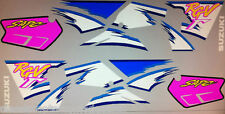 SUZUKI RGV250 RGV250P RESTORATION PAINTWORK DECAL SET
