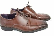 STEVE MADDEN Mens P-Tomm Oxford Square TIP Leather SHOES Size 10
