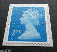 2016 2nd Class M16L + MBIL MACHIN SINGLE STAMP from Business Sheets