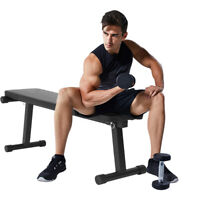 Home Flat Dumbbell Bench Workout Weight Bench Sit-up Board Barbell Lifting Gym