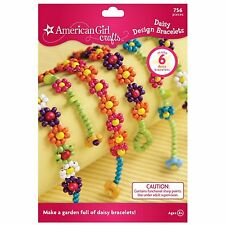 American Girl Crafts Daisy Design Bracelets Kit , New, Free Shipping