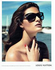 Publicité Advertising 028  2009  lunettes solaires par Louis Vuitton
