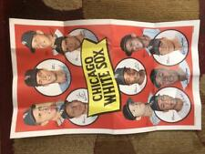 1969 Topps Team Posters #11 Chicago White Sox Poster Sheet Luis Aparicio John