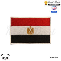 EGYPT National Flag Embroidered Iron On Sew On PatchBadge For Clothes etc