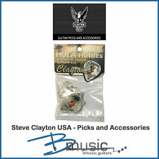 12 x Steve Clayton Hula Hotties Guitar Picks - Made in the U.S.A.