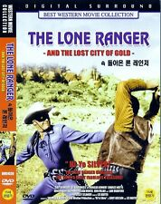 The Lone Ranger and the Lost City of Gold (1958) DVD NEW *FAST SHIPPING*