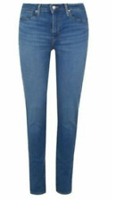 LEVIS 721 High Rise Skinny Jeans Ladies Blue All Sizes  *REFAB230-243