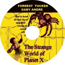 The Strange World of Planet X (1958 Cult Sci-Fi Film) Mod Dvd disc only