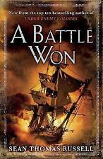 A Battle Won, By Sean Thomas Russell,in Used but Acceptable condition