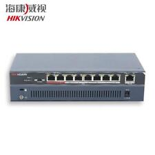 Hikvision 8-ports 100Mbps Unmanaged PoE Switch 123W  IEEE802.3 at/af Max 250m