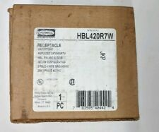 HUBBELL HBL420R7W WATERTIGHT RECEPTACLE