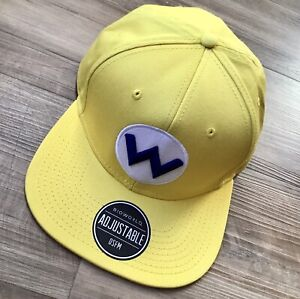 Bioworld Super Mario Wario Yellow SnapBack NWOT