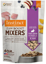 INSTINCT - Freeze-Dried Raw Boost Mixers Rabbit Recipe Cat Food - 6 oz. (170 g)