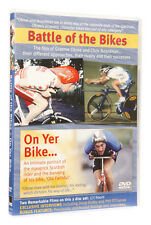 CYCLING DVD, BATTLE OF THE BIKES & ON YER BIKE, THE GRAEME OBREE STORY