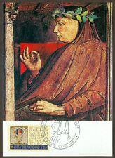 Vatican City Sc# 1290:  Birth of Francesco Petrarca , Maxi Card