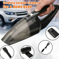 Cordless Car Vacuum Cleaner Home Rechargeable Wet Dry HEPA Handheld Duster Tool