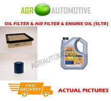 PETROL OIL AIR FILTER KIT + LL 5W30 OIL FOR HONDA CR-V 2.0 147 BHP 1999-02
