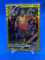 2019-20 Donruss Optic Donovan Mitchell Gold Wave Prizm - Beautiful Card