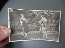 Gypsy Party Baildon ShipleyYorkshire 1929 photographic POSTCARD authentic  c