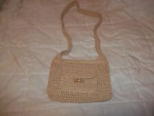 Faded Glory straw purse cute great condition apx. 9x8 17 in strap front pocket