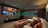 Decoration Star fiber optic light kit RGB led light box+end light fibre optics