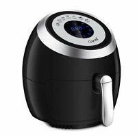 Digital AirFryer XL 4.2QT Basket Touchscreen Programmable Deep Oven Cooker 1500W