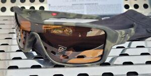New Oakley RIDGELINE Sunglasses 9419-0627 Olive Camo w/ Prizm Tungsten Polarized