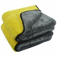 1000gsm Plush Microfiber Towel Dying Cleaning Towel Double Side Super Absorbent