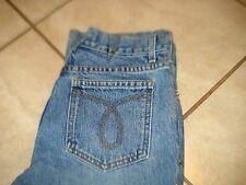 JUICY COUTURE MED WASH SILVER STUD TRIM DETAIL MID RISE BOOT CUT JEANS Sz 25X28