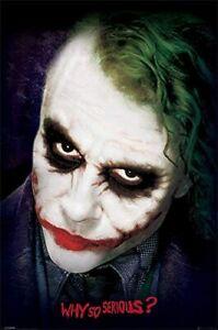 The Joker Heath Ledger The Dark Knight Poster