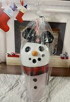Disney Parks Christmas Tumbler With Straw Lights Up Brand New