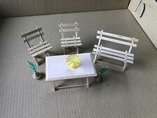 kleines Garten Möbel Set, Deko, Spielzeug, (G)10705