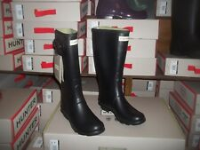 HUNTRESS WELLIES WELLINGTONS  IN HALIFAX SIZE 7 BLACK WOMENS