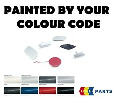 NEW GENUINE AUDI RS6 08-11 FRONT TOW HOOK COVER PAINTED BY YOUR COLOUR CODE