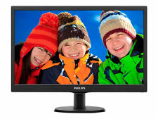 Philips 193v5lsb2 18.5 LED 1366x768 VGA Black Monitor 5ms