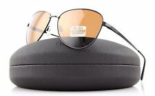 POLARIZED New Authentic SERENGETI GLORIA Shiny Dark Gun Drivers Sunglasses 8415