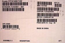 Intel Server Chassis SC5299-E 4 Fan Kit FPP4FANKIT4W