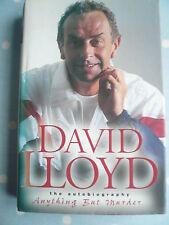 David Lloyd (autografato) - L'AUTOBIOGRAFIA-CONDIZIONI ECCELLENTI