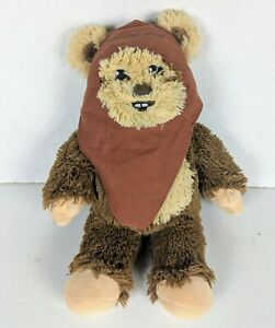 """Build a Bear Workshop Star Wars Ewok Wicket With Face Hood Clothing. 18"""" Tall"""