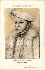CPA  Conjuration d'Amboise en 1560 - Francois II Roi de France (portait (229279)