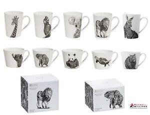 Maxwell & Williams MARINI FERLAZZO Tasse, Premium-Keramik, in Geschenkbox, Tiere