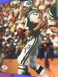 Joe Namath Signed 8x10 Color Photo - JSA Certified - NY JETS - NICE !!