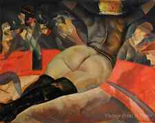 Circus Woman Performer Nude Butt Stockings - Boris Grigoriev 8x10 Art Print 0284