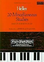 HELLER 20 MISCELLANEOUS STUDIES Piano