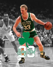0f4a36555 Boston Celtics LARRY BIRD Spotlight Photo 8x10  1
